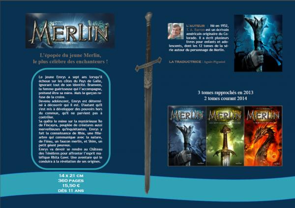 *En Savoir plus * /1ère Edition\ Merlin de T.A. Barron