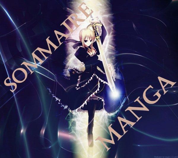 Sommaire Manga