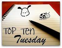 Le Top Ten Tuesday