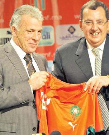 àNNOùKHBà مدرب المغرب يأمل دخول موسوعة جينيس للأرقام القياسية àNNOùKHBà