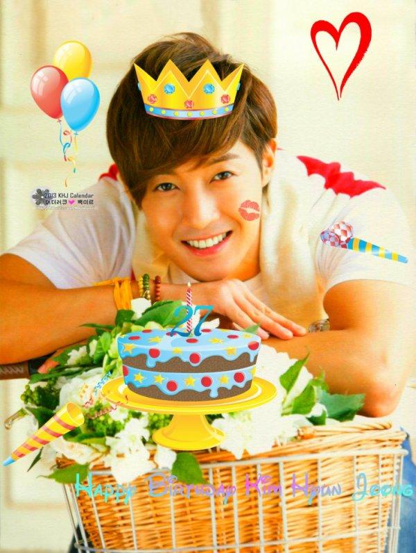 Happy birthday KIM HUYN JOONG