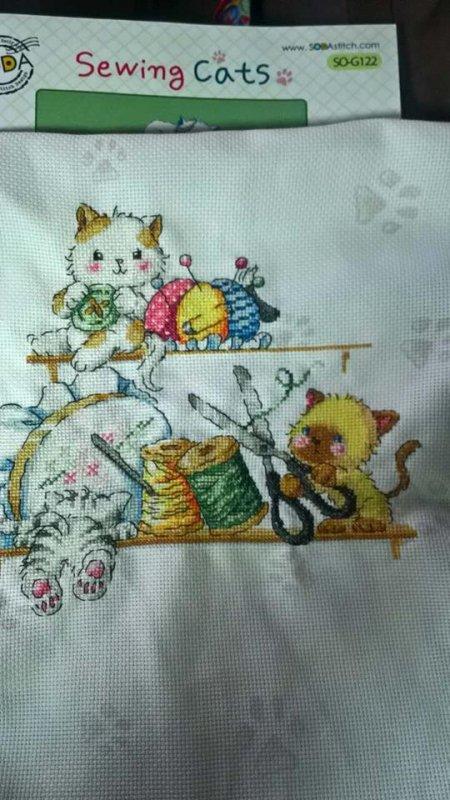 SAL les chats de la couture