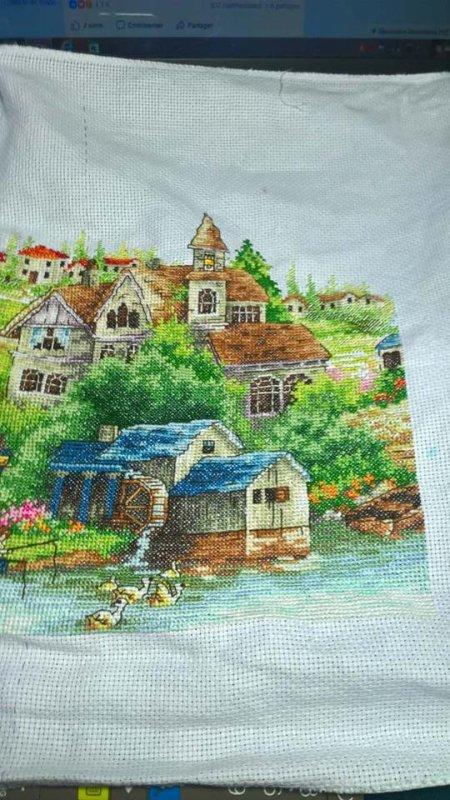 A green village