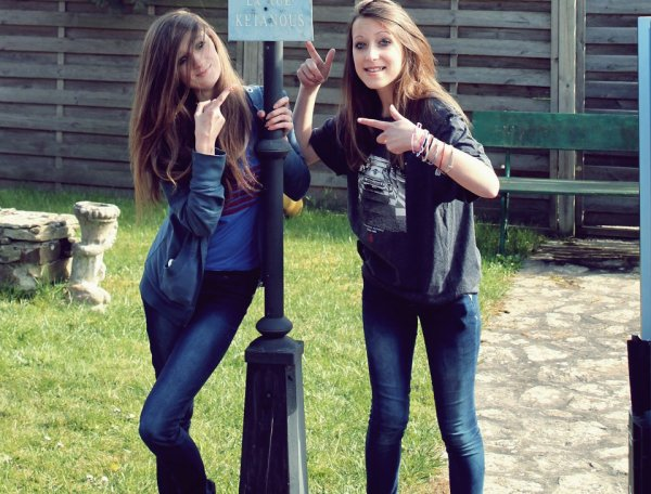 Lou, ma meilleure amie♥♥♥