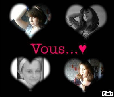 Mes amours!