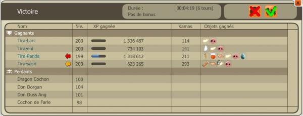 Drops Dofus Turquoises/ Up 200/ Klime! :)