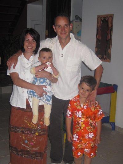 Les parents sont revenus de Thaïlande!!