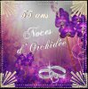 AUJOURD'HUI 55 ANS DE MARIAGE 55 ANS DE BONHEUR AVEC L'ELU DE MON COEUR