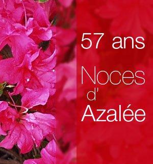 NOUS FETONS NOS 57 ANS DE MARIAGE