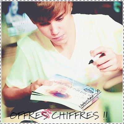 OFFRES CHIFFRES !!!