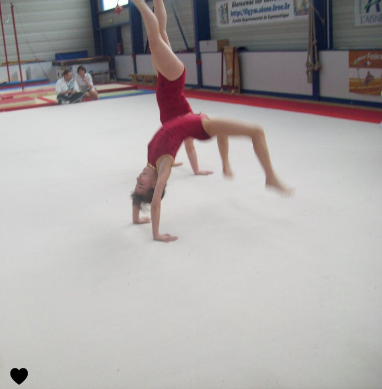 La gymnastique un passion <3