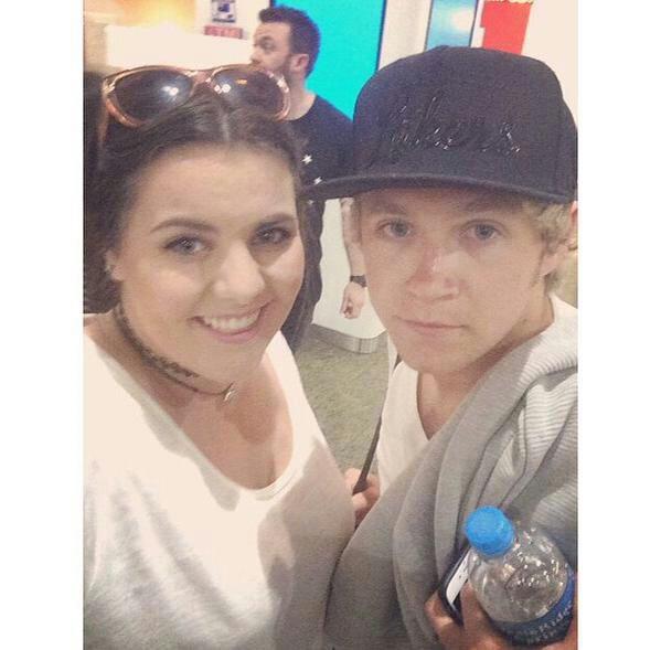 Niall a l'aéroport de KLIA récemment