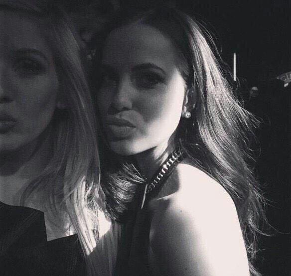 Sophia et Ellie Goulding