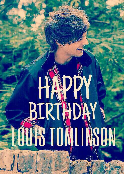 Happy Birthday Louis !