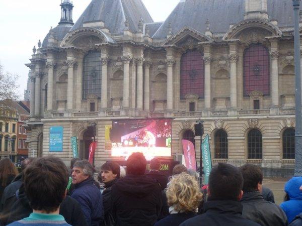 Ce week-end, Lille a vécu à l'heure de la Coupe Davis