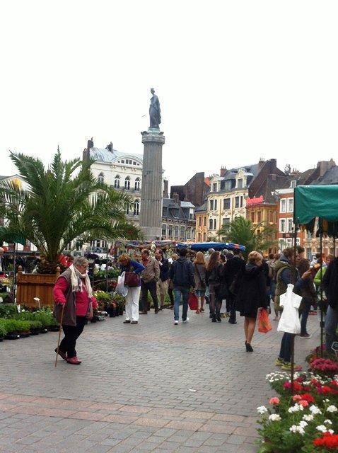 Le marché aux fleurs 2015 sur la Grand-Place