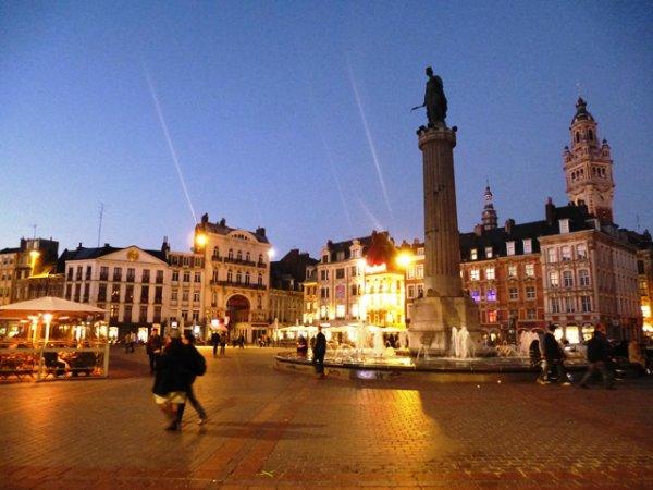 Une sortie dominicale à Lille en automne