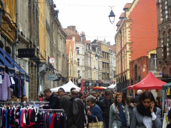 C'était la braderie du Vieux Lille aujourd'hui