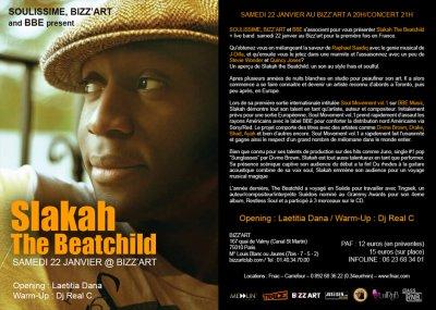 Slakah the Beatchild au Bizz'Art, 6 places à gagner !