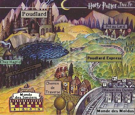 """""""Qu'est-ce que tu sais sur Pré-au-Lard ? J'ai lu que c'est le seul village d'Angleterre où il n'y a pas un seul Moldu..."""""""