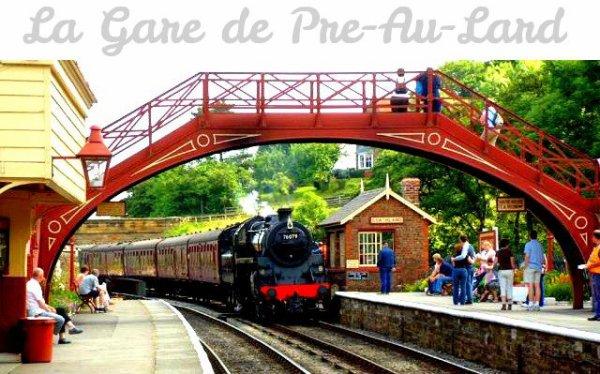Après ce long voyage, nous sommes enfin arriver à Pré-Au-Lard.