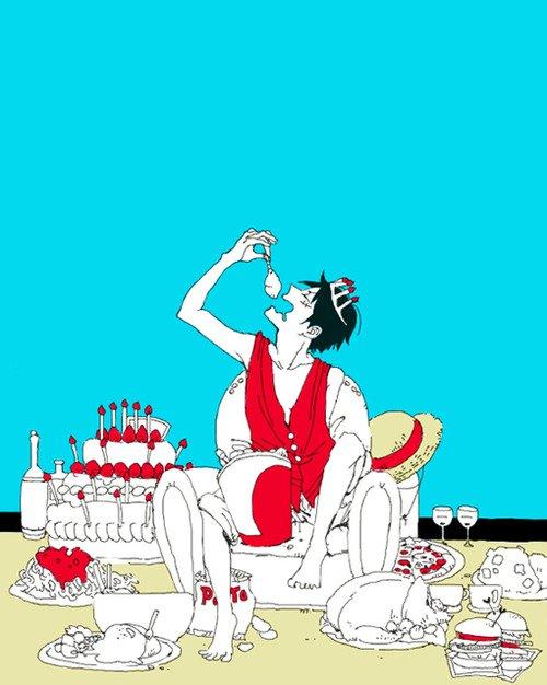joyeux anniversaire luffy