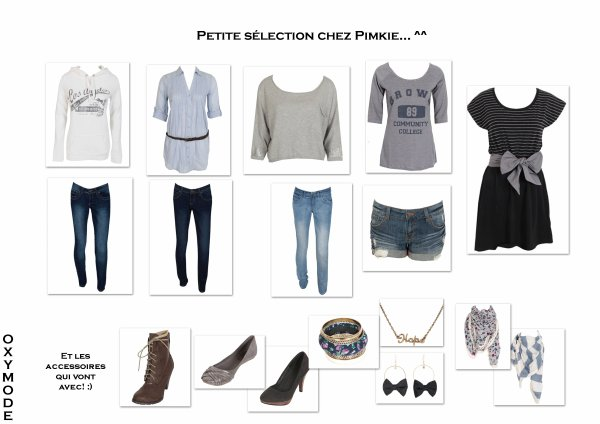 Selection Pimkie!! ^^