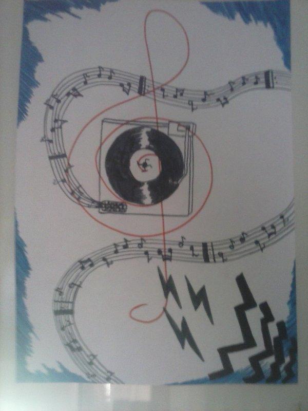 Un de mes dessins ! Fais en plein cours de Math !! :D