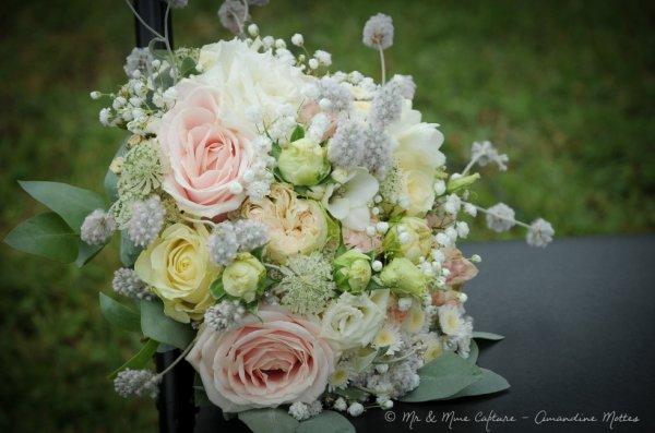 Bouquet rose tendre.....