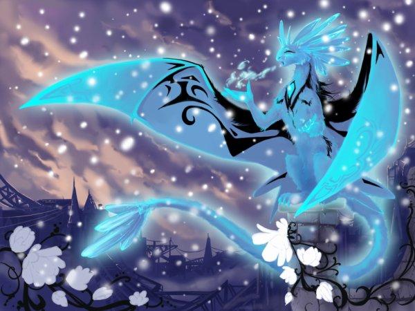 dragon des neige