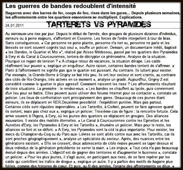 Articles Presse Choc Sur Les Tarterets
