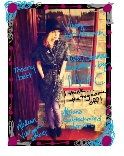 Wardrobe Wednesday: Mercredi 25 Janvier 2012