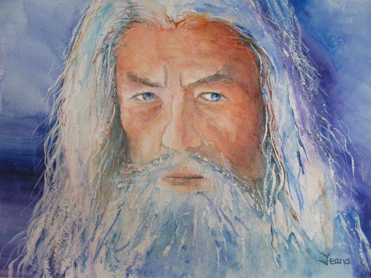 Portrait: Gandalf
