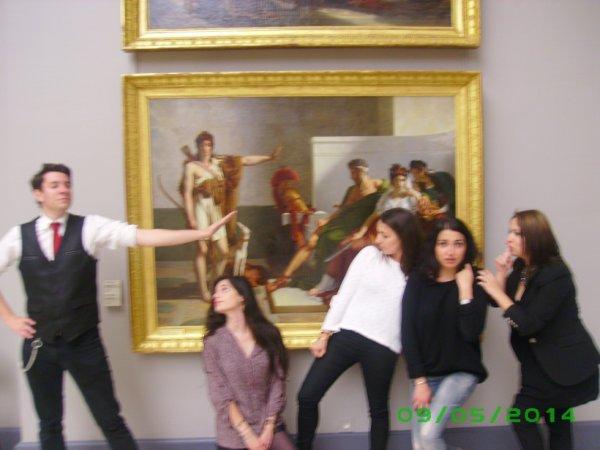 Un stage pas comme les autres au musée des Beaux Arts