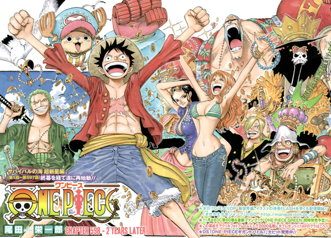 Dernier News sur One Piece ! /!\ ATTENTION SPOIL /!\