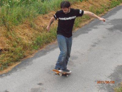 en mode skate