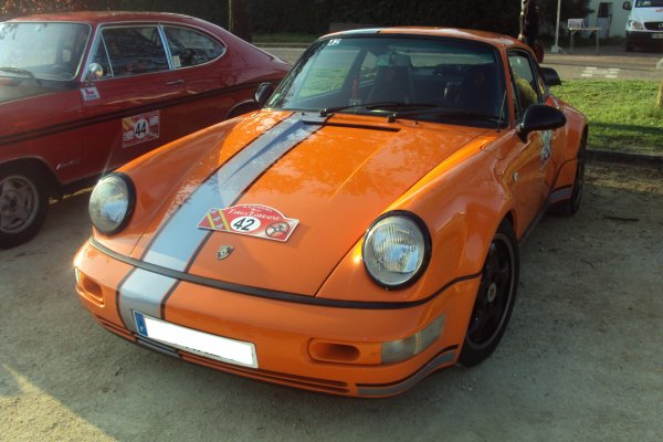 porsche 911 modele 964