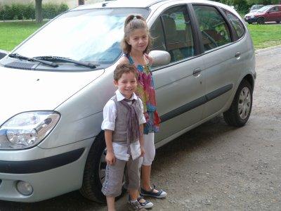 Mon neveux et ma nièce