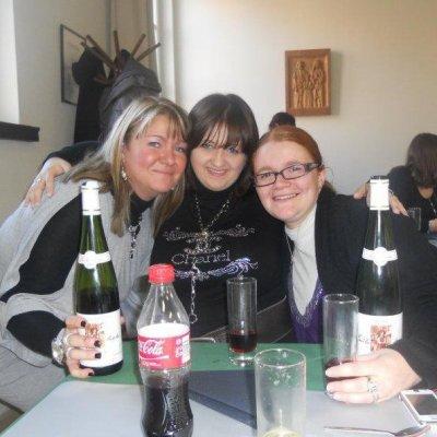 Mes charognes Sonia et Monique et moi
