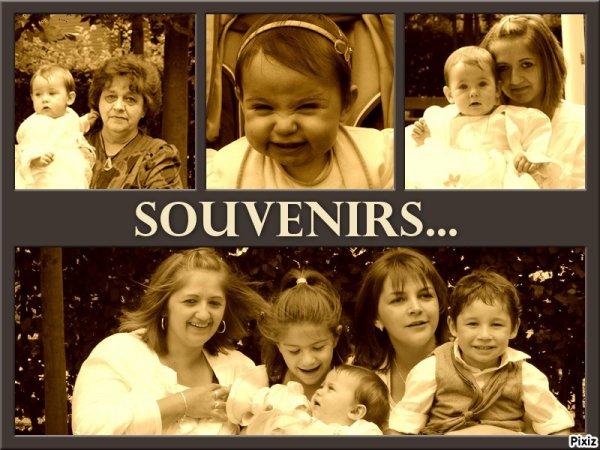 Ma maman ma soeur mes neveux et nièces et moi