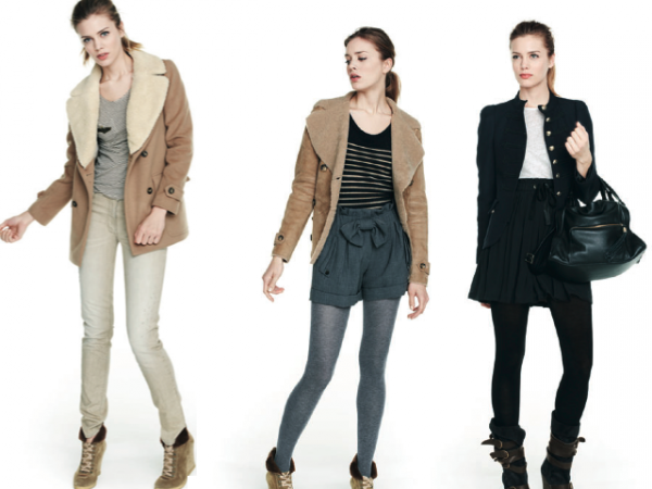 Collection hivernale 2010-2011 . 01. Sandro.