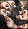 Nail art animal