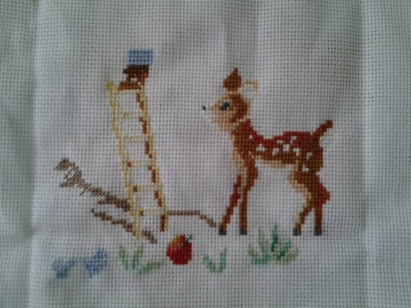 ma broderie en cours...