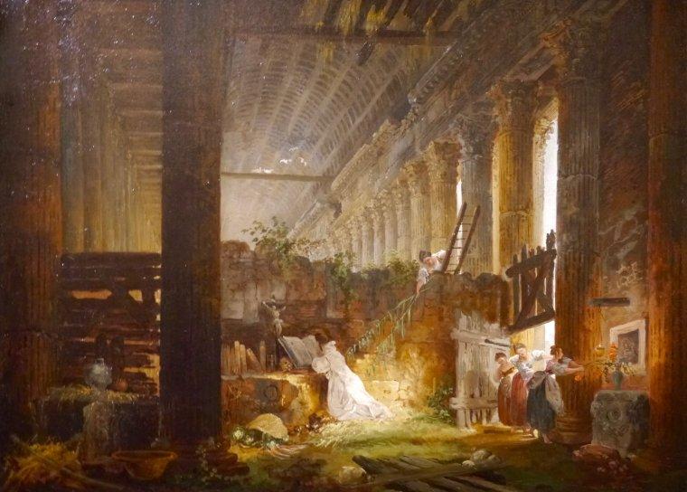 Hubert Robert, dit « Robert des ruines »