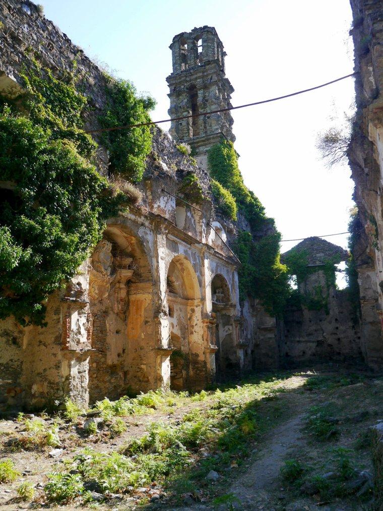 Ruines naturelles