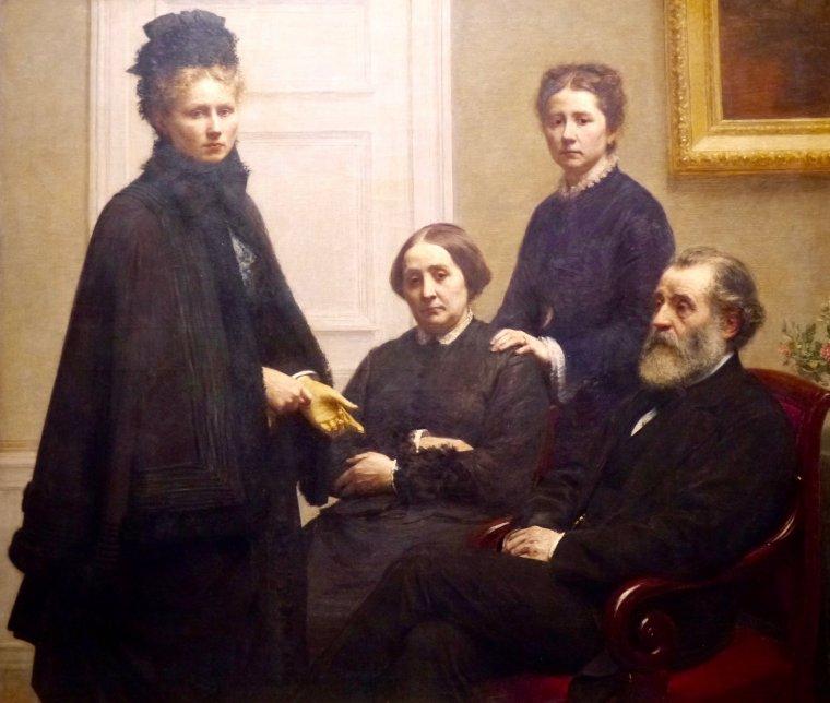 Fantin-Latour (1836-1904) — À fleur de peau