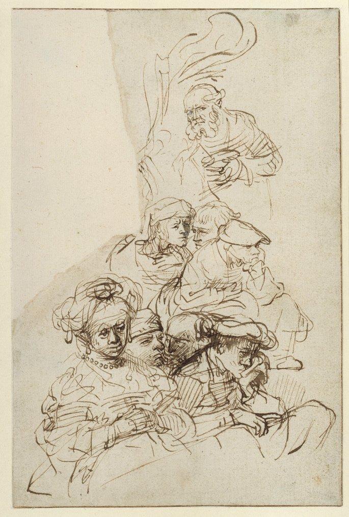 Du dessin au tableau au siècle de Rembrandt