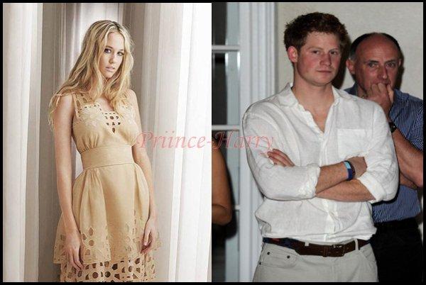 Le Prince Harry sort avec sa cousine !