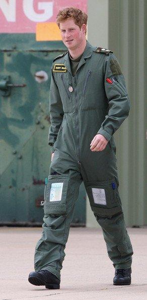 Harry a été soumis à un entraînement militaire ...