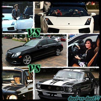 quelle voiture est votre préféré ?